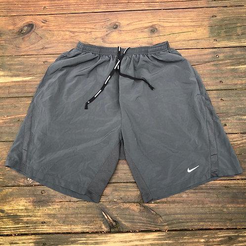 Grey Nike Running Shorts