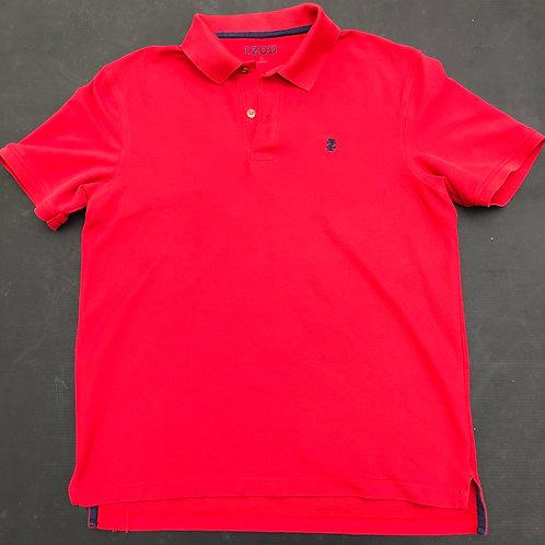 Red Izod Polo Shirt
