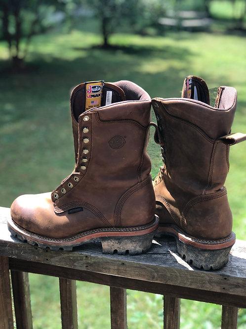 Justin Logger Boots