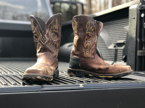 Justin Hybred WorkBoots US Size 9.5 D