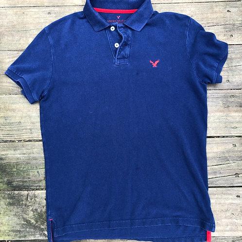 Blue/Red AE Polo Shirt