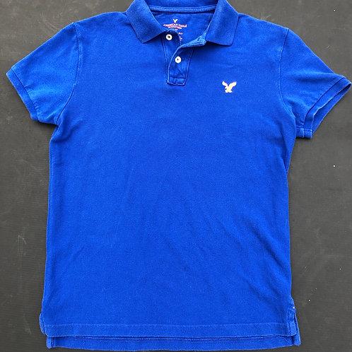 Blue/Orange  AE Polo Shirt