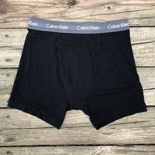 Calvin Klein Black/Gray Boxer Briefs