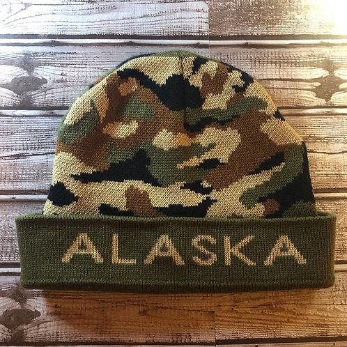 "Camo ""Alaska"" Beanie"