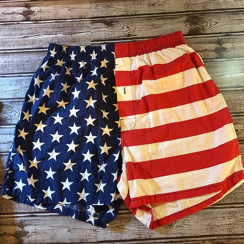 SadleBred American Flag Boxers