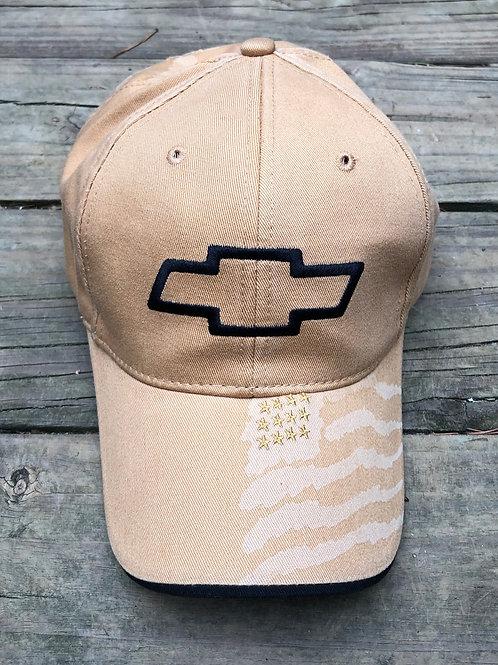 Chevy / Flag BallCap