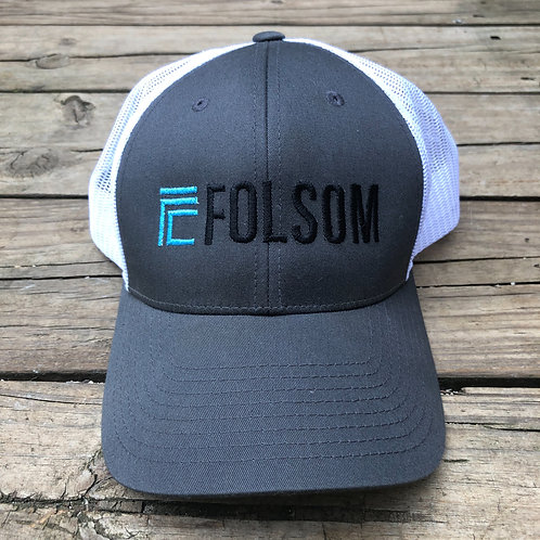 Folsom Adjustable BallCap Gray/White