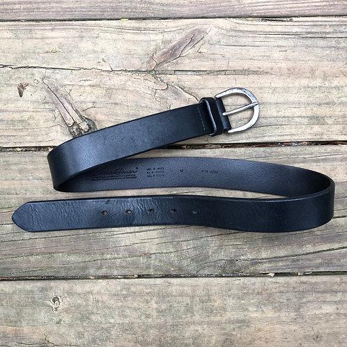 Black Leather Eddie Bauer Belt