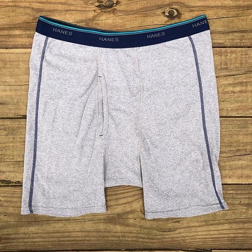 Hanes Grey Comfort Flex Boxer Briefs