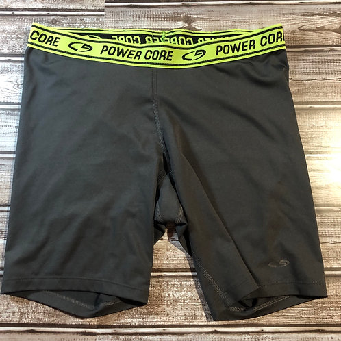 Power Core Gray/Yellow Boxer Briefs