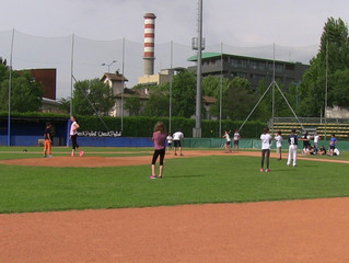 "2ND ""BASEBALL SCHOOL DAY"" IN VIA BRANZE CON L'AUDIOFONETICA DI MOMPIANO"