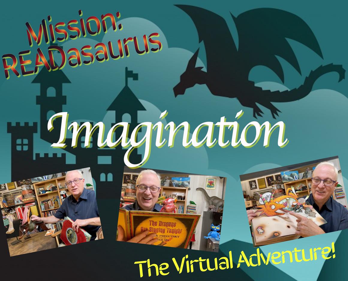Mission READasaurus: Imaginationphotoswhite2