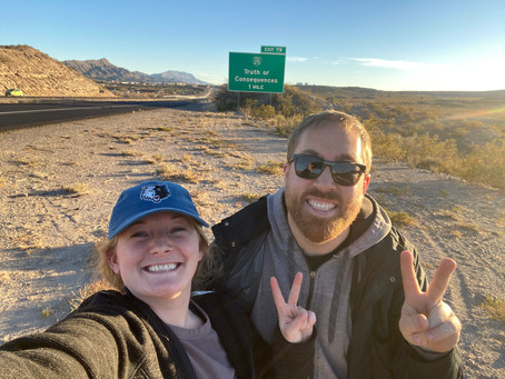 Our Trip to Truth or Consequences, NM February 2021