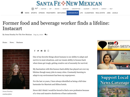 Jenna Hensley REALTOR® is a Columnist at The Santa Fe New Mexican Newspaper!