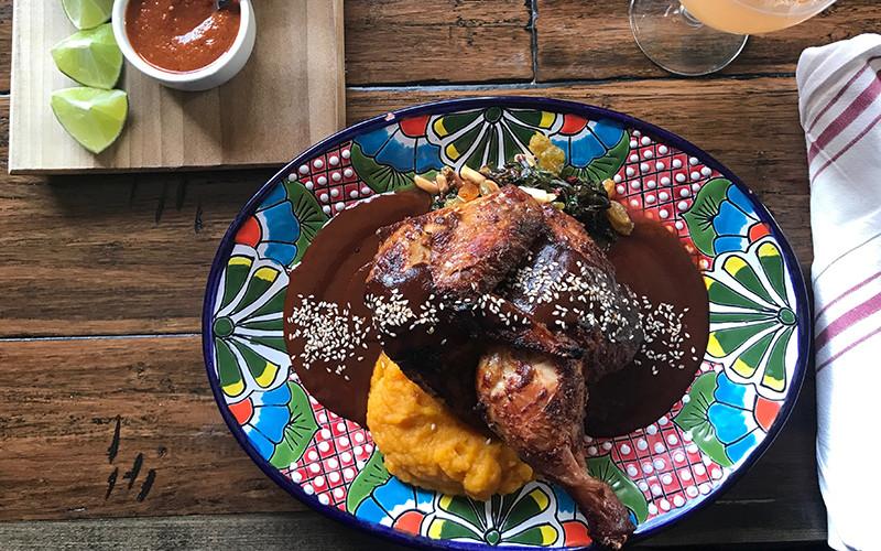 Paloma Restaurant, Chef Nathan Mayes