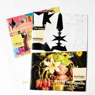 Printmedien u. a. Dokumentationen für die kestnergesellschaft hannover