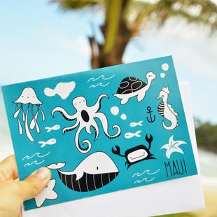 """Branding Design und Konzeptentwicklung für das Label """"Baby Maui"""""""