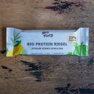 Mrs Flury – Packaging Design für Bio Kürbis Proteinriegel