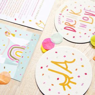 """Wedfestival Branding Design """"Rock Love Aloha"""""""