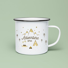 "Produktdesign ""Adventure time"" für das Label ""yummydesign"""