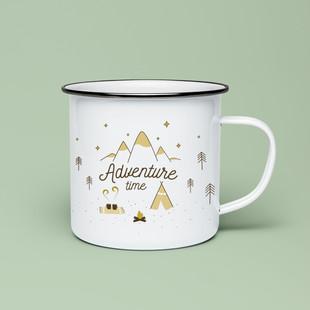 """Produktdesign """"Adventure time"""" für das Label """"yummydesign"""""""