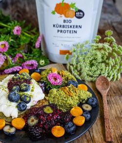 Mrs Flury – Bio Kürbiskern Protein