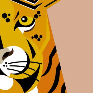 """Illustration """"Tiger"""""""