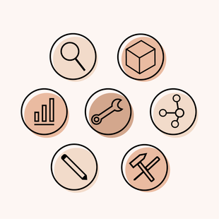 """Icon-Package """"Produktdesign"""""""