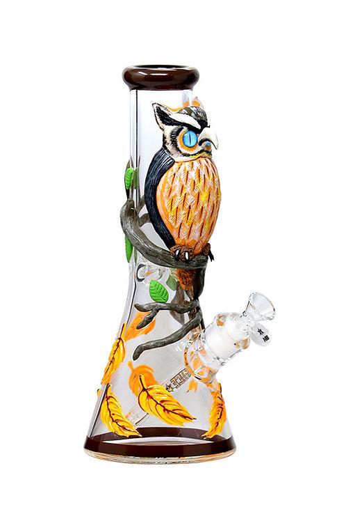 12.5 inch 3D-Wrap Know-It-Owl Beaker