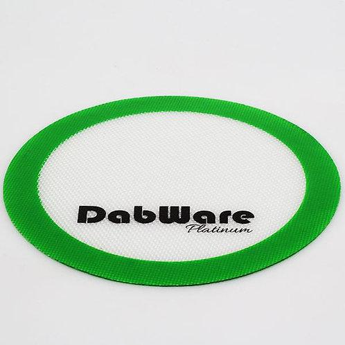 """DabWare Platinum Round 8"""" Silicone Mat"""