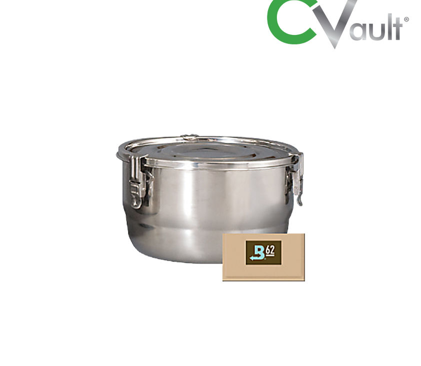 C-Vault Air Tight Storage Container With Humidity Control 0.5 L - 21L