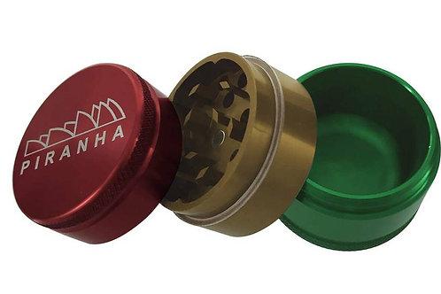 Piranha 3-Piece Grinder w/ Storage