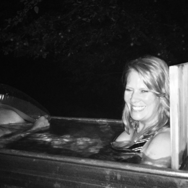 Late night soak!