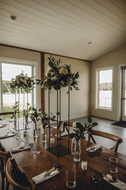 Tall Metal Floral Stands