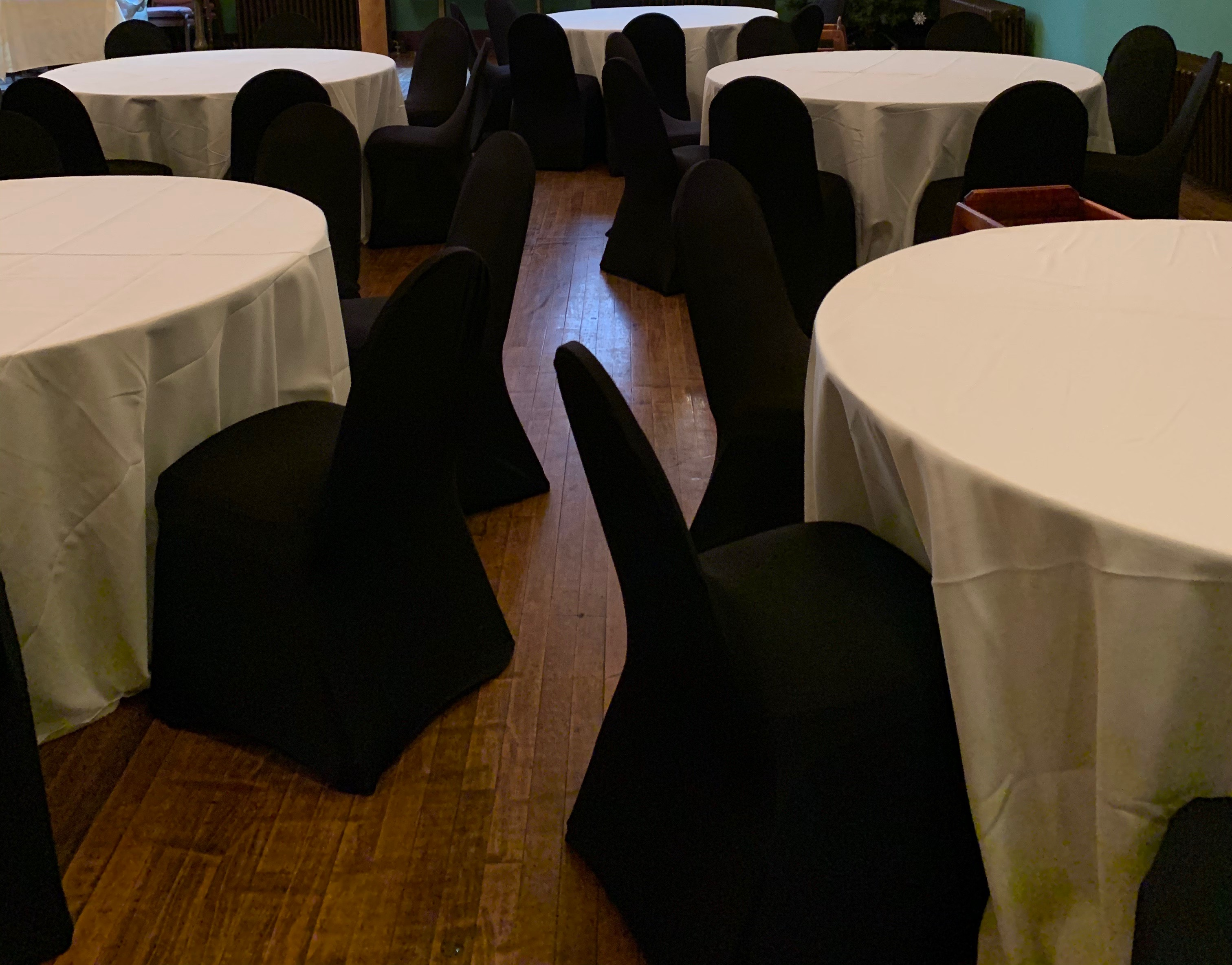Chair Covers + Tablecloths