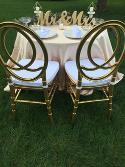 Claire Sweetheart Chairs