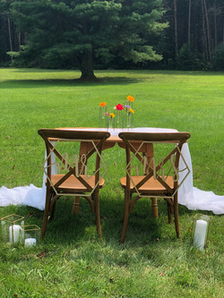 Farmhouse Sweetheart Chairs