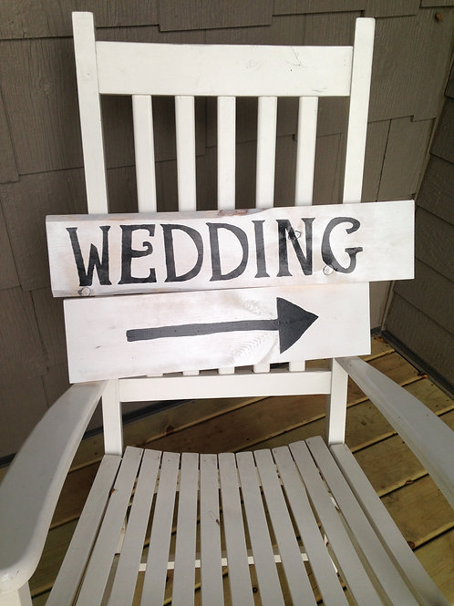 Wedding Directional Sign (Sign)