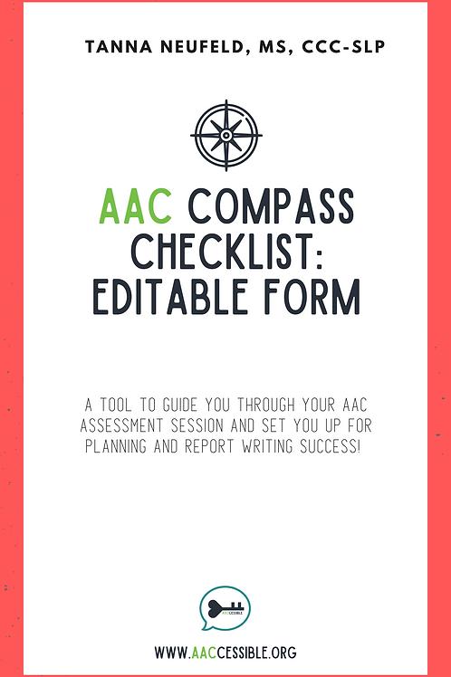 AAC Assessment Compass Checklist