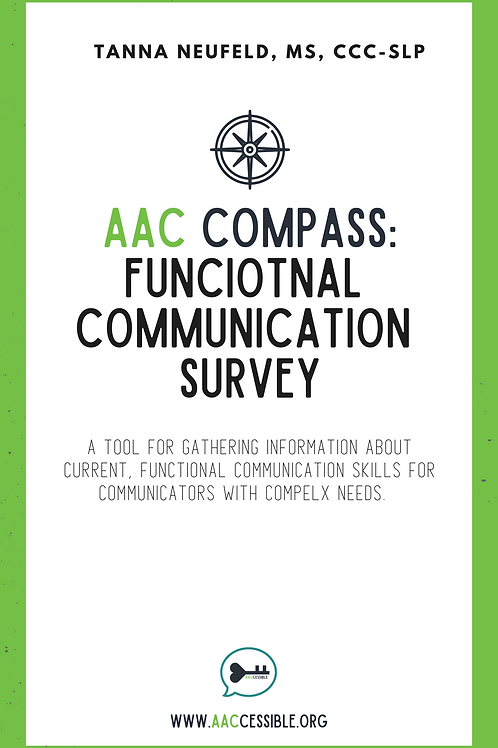 Functional Communication Survey for AAC Assessment