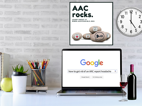 how to get rid of an AAC report headache