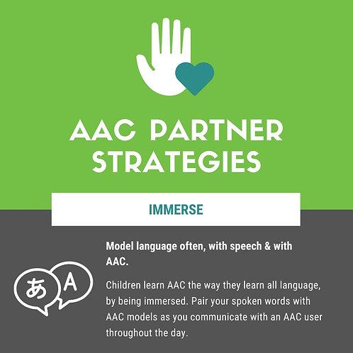 AAC Partner Strategies Infographic
