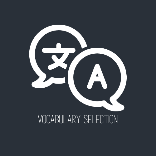 Vocabulary Selection