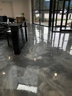 Marble Epoxy Floor