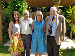 Funds raised by Rotary Club of Maidstone