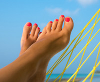 Beat the Summertime Blues South of your Ankles