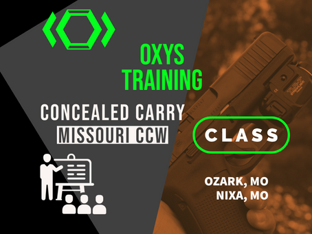 Upcoming CCW Class this weekend! July 11th & 12th