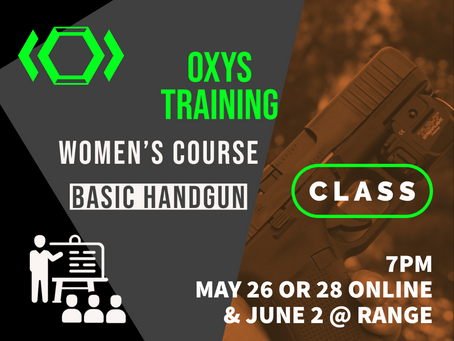 New Course: Women's Basic Firearms