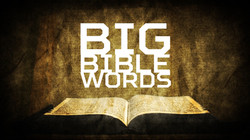Big Bible Words Series