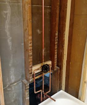Plumbing In Cincinnati and Dayton-Bathtub Rough In and Installation